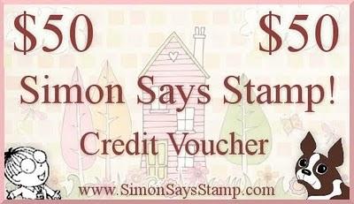 Simon Says Stamp $50 Credit Voucher