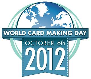 World card making day label
