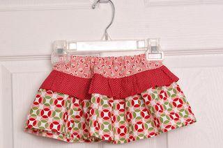 Ruffle twirl skirt