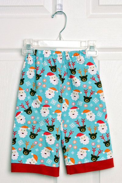 Boys Santa pants