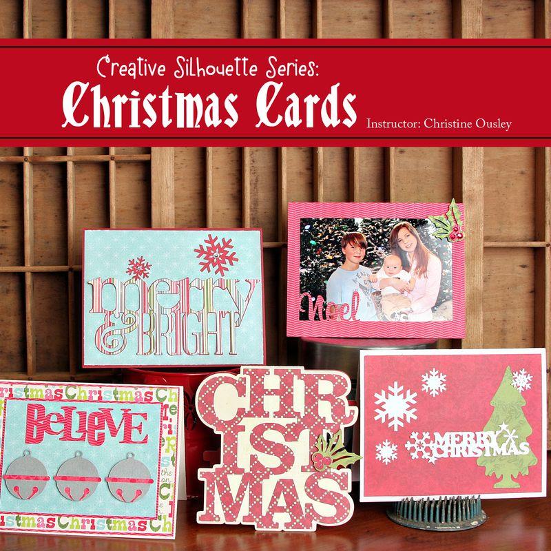 Christmas card class pic