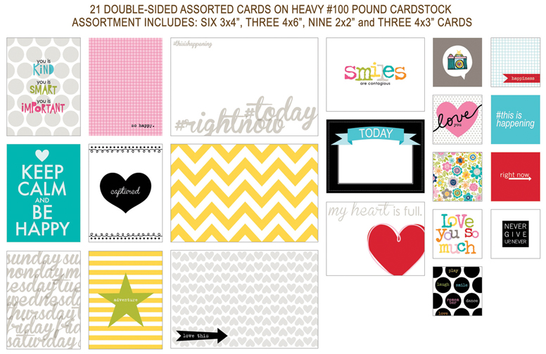 744 CANDID CARDS-CONTENTS